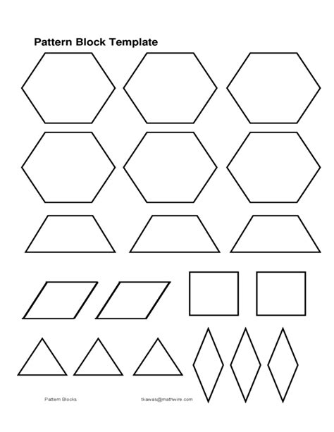 pattern template download pattern block template sle free download