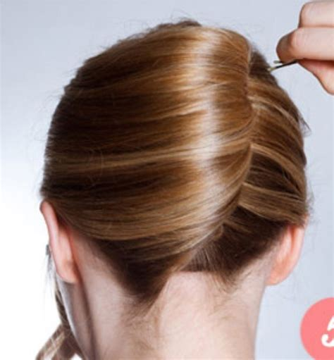 step to step guide on french roll step by step guide to classic french twist musely