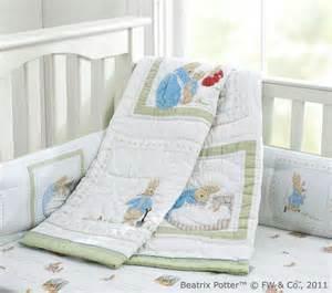 Beatrix Potter Crib Bedding Rabbit Nursery Bedding