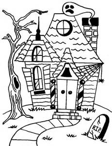 haunted houses coloring sheets haunted house coloring page az coloring pages