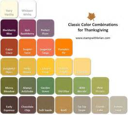 thanksgiving color combinations st with brian