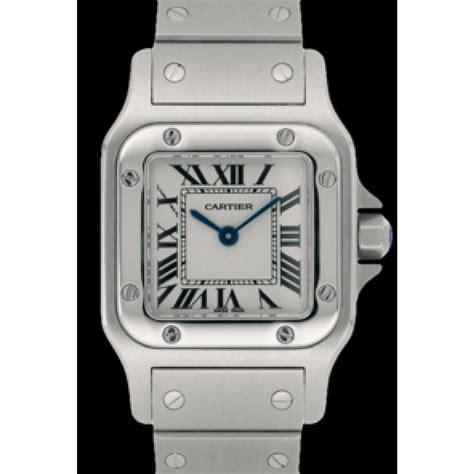 Orologio Cartier Santos Galbée Quarzo Acciaio ref. A51561   Instant Luxe