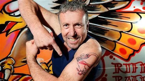 riff raff tattoos swans fan eloff gets a version of s