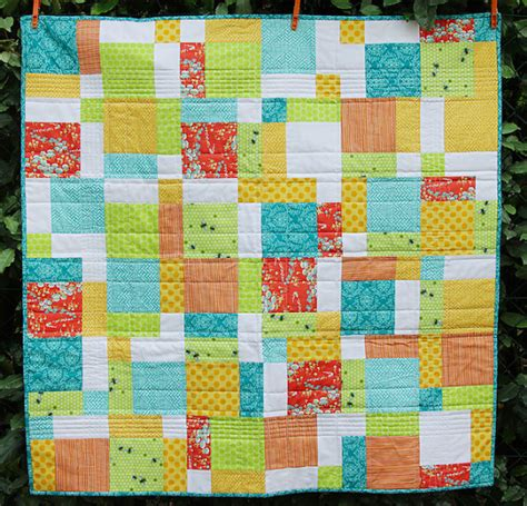 How To Design A Quilt by 10 Easy Baby Quilt Patterns That Stitch Up