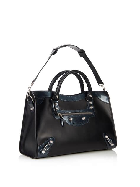 Balenciaga The Shoulder by Lyst Balenciaga Classic City Leather Shoulder Bag