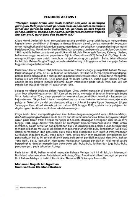 teks biografi hamka aktivis 2003