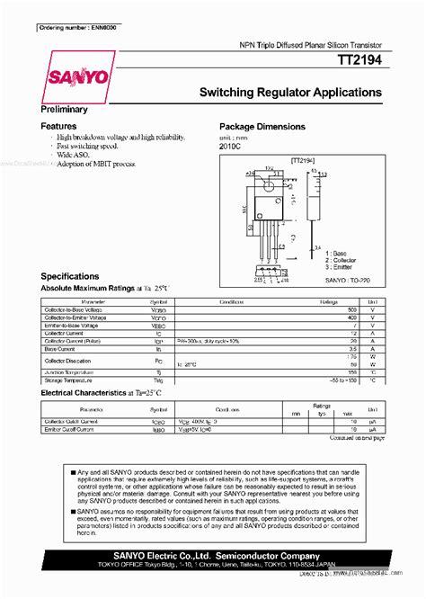 datasheet transistor n5551 tt2194 332174 pdf datasheet ic on line