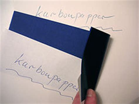 Make Carbon Paper - carbon copy