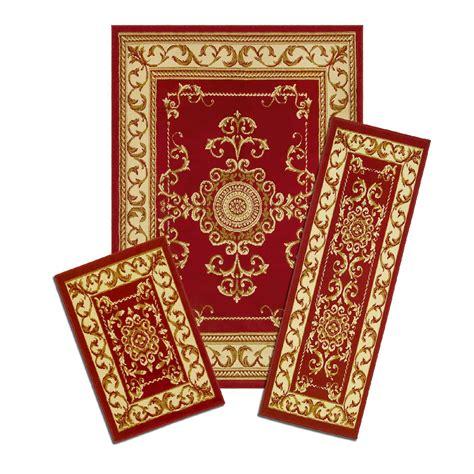 kmart area rug sets royal crown 3 area rug set