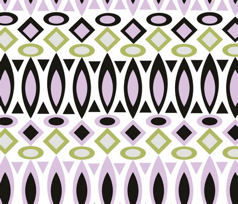 test pattern rrr tribal pattern fabric fuzzyfox spoonflower