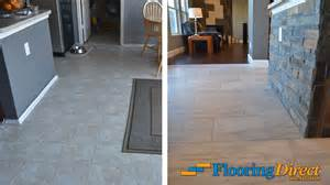 old vinyl flooring vs new wood look tile flooring flooring direct