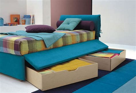 bed for teenager practical single bed for kids and teen room designs