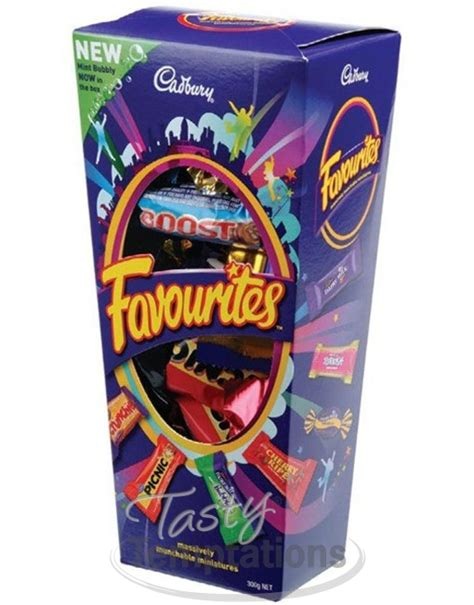 Cadbury Favourites cadbury favourites chocolates tasty temptations