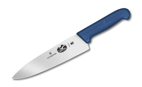 kitchen knives victorinox victorinox fibrox chef s knife with blue handle 8 inch cutlery and more