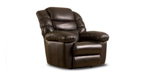 la z boy recliner with fridge in armrest and heated