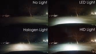 led vs regular lights what is better halogen xenon or led headlights