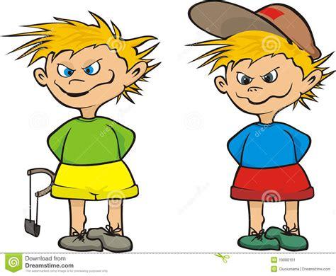 clipart bambino discolo di via bambino illustrazione vettoriale