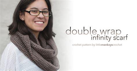 how to join an infinity scarf wrap infinity scarf pattern monkeys crochet