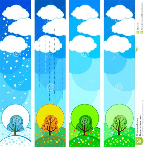Seasonal Timing by Seasonal Tree Stock Vector Image Of Leaf Ecology