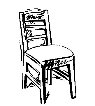 stuhl comic stuhl 4 ausmalbild malvorlage objekte