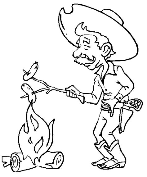 coloring book pages western coloriage western cow boys 224 colorier allofamille