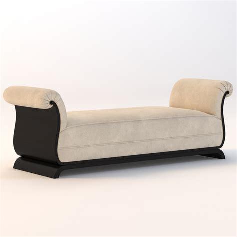 modern deco sofa deco sofa 3d model
