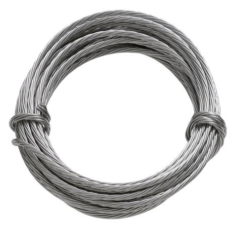 hang photos from wire ook 9 ft 100 lb stainless steel hanging wire 50116 the