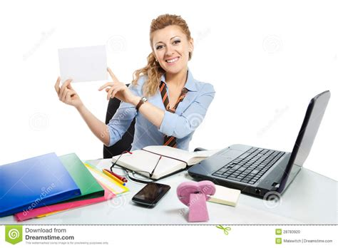 office clerk 6 stock photo image 28783920