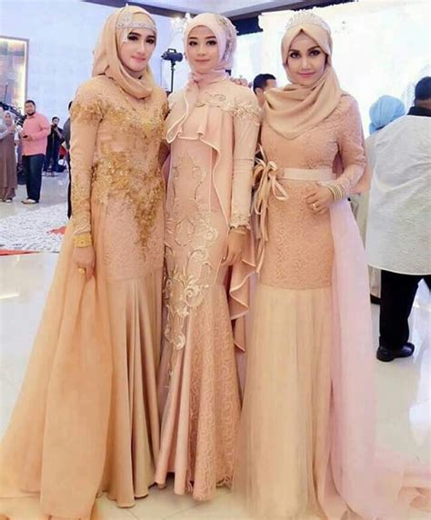Setelan Kebaya Ba 070 Bridesmaid My Kebaya Muslim And