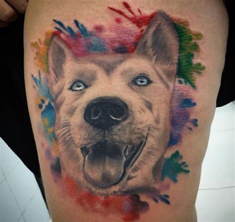 hunde tattoo designs mit bedeutungen