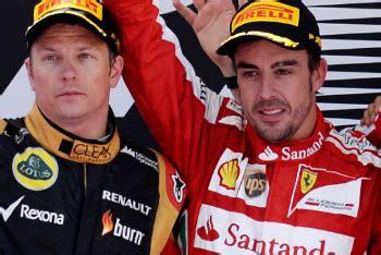 Kaos Formula 1 Kimi Raikkonen Hitam duet kimi raikkonen dan fernando alonso berpotensi berbahaya kabar berita artikel