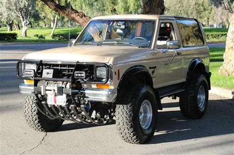 a ford bronco ii for the doomsday prepper bronco ii corral