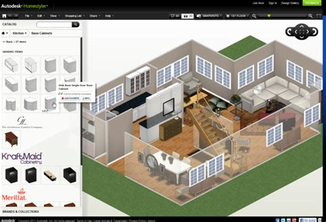 free online autodesk home design software homestyler is a well detailed tool to create walls