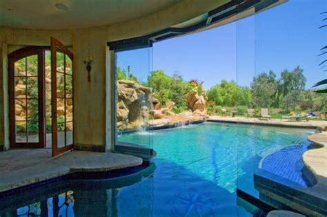 Amazing Pools That Are Both Indoor And Outdoor House Plans With Indooroutdoor Pool