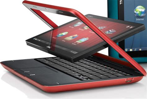 hybrid dell inspiron duo tablet : a netbook and a tablet