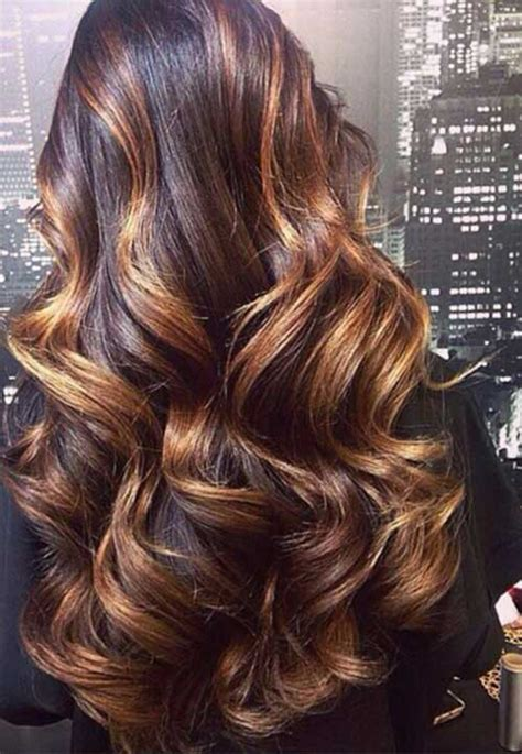 long hairstyles with brown hairnwith carmel highlights of 2015 30 impressive brown hair with caramel highlights 2018