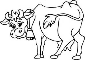 cow coloring page cow 2 coloring page