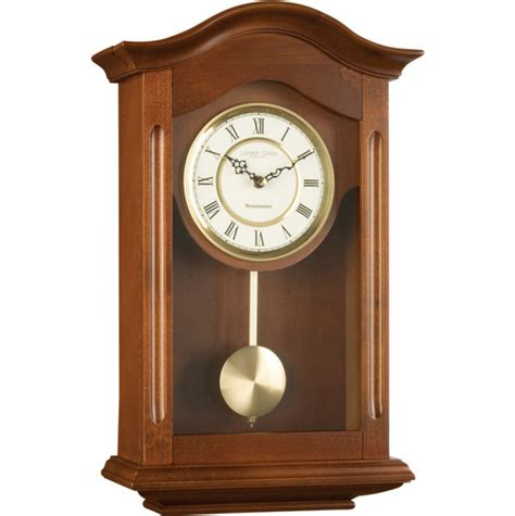 Spiderman Wall Stickers antique pendulum wall clock dark brown wooden walnut