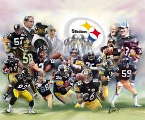 The steel curtain pittsburgh steelers by wishum gregory the black