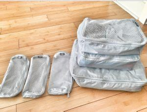 ikea packing cubes organized packing family travel bugs