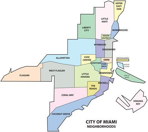 map of neighborhoods file miami neighborhoods map png