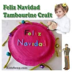feliz navidad you tube children christmas plays feliz navidad tambourine craft and motor skills kidssoup