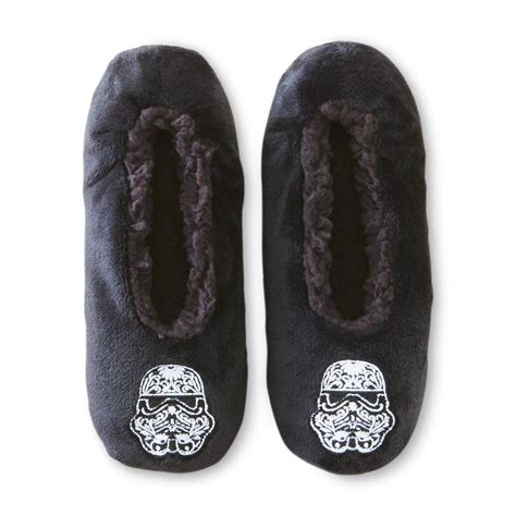 wars slippers for wars s fleece slipper socks shoes s
