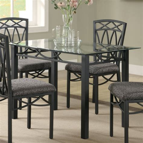 Coaster Rectangular Dining Table Shop Coaster Furniture Black Rectangular Dining Table At Lowes