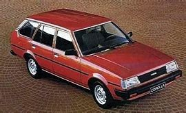 1983 Toyota Corolla Station Wagon 1983 Japanese Car Spotters Guide