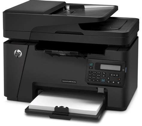 Printer Laser Hp All In One hp laserjet pro m127fn monochrome all in one laser printer