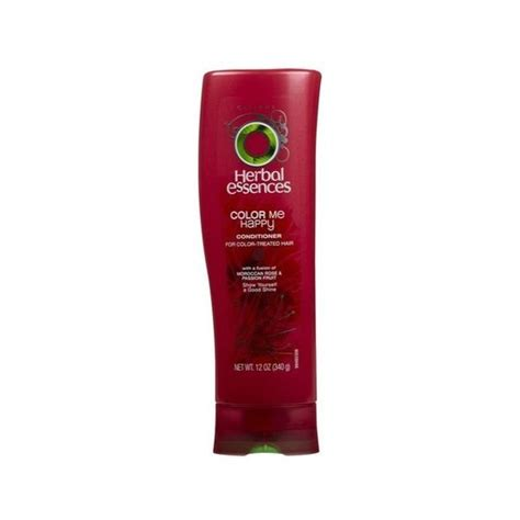 shoo and conditioner for color treated hair herbal essences color me happy conditioner for color