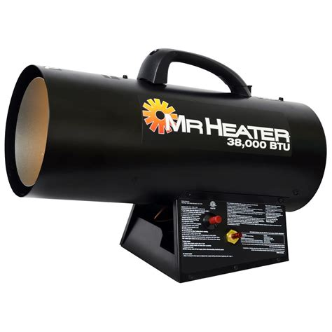 Propane Forced Air Garage Heater by Mr Heater 174 Forced Air 38k Propane Heater 624252 Garage
