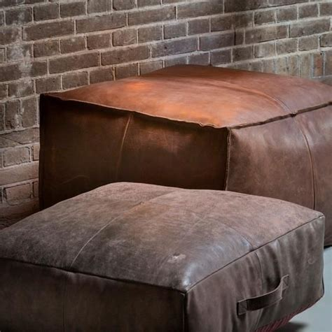 leather floor pillow the 25 best brown furniture ideas on