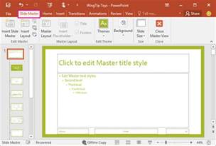 what is a slide master powerpoint